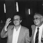 Con Raffaele Della Valle e Leonardo Rinella